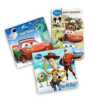 Disney Cars and Toy Story Board Books Set For Kids Toddlers - 3 Books (Disney...