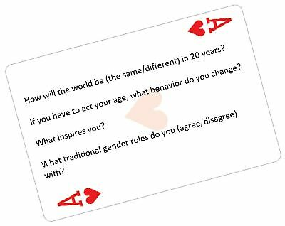 Conversation Cards - 200 Thought-Provoking Conversation Starters on Classic P...