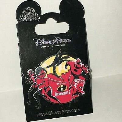 Disney Parks - The Incredibles 2 Family Logo  Pin 128406 - NEW