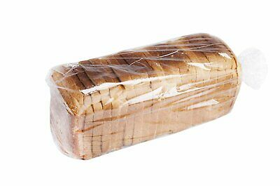 100 Poly Bakery Bread Bags 6 x 3 x 12 Ultra Thin Clear Gusseted