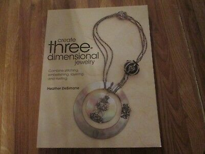 Create Three Dimensional Jewelry instruction Book New Condition