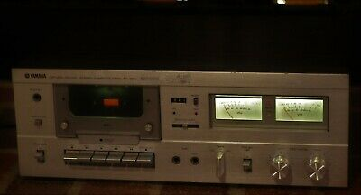 Yamaha Natural Sound Stereo Cassette Deck Model TC-520 Working