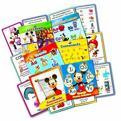 Disney Educational Disney Learning Phonics Box Set -- 4 Learn to Read Books, ...