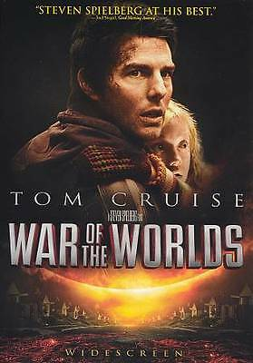 War of the Worlds by Steven Spielberg (DVD, 2013) Starring Tom Cruise