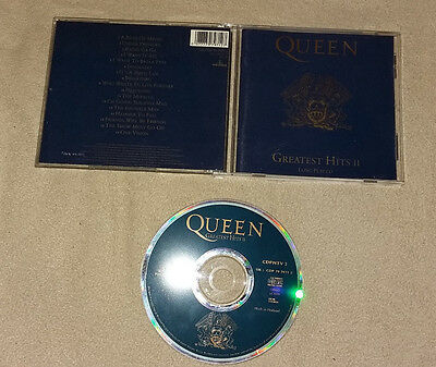 CD  Queen - Greatest Hits II 2  17.Tracks  1991  109