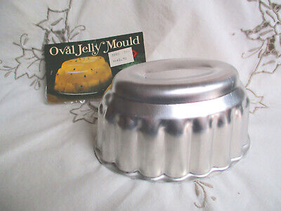 """Anodised Aluminium Oval Jelly Mould Kande Kitchenware """"Red Pepper"""""""