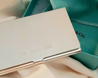 TIFFANY & Co Silver Business Cardholder