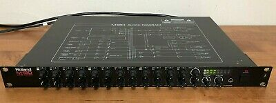 Roland M-120 12 Channel Rack Mount Mixer Excellent for Synthesizer Sub-Mix #1