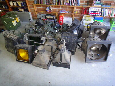 Strand Electric Vintage Theatre Spotlight And Other Lights  Collection  2 Very L