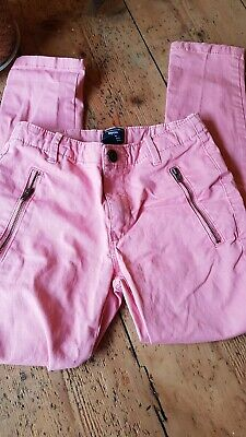 Girls Pink Gap Trousers Age 7
