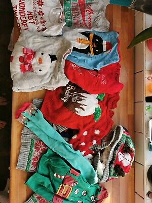 Bundle Of Christmas Clothes 2-3 Years