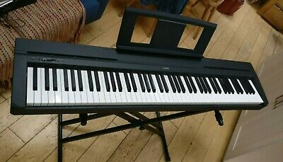 Yamaha P-45 Digital 88 Weighted Key Stage Piano with Accessories