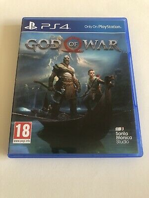 "God of War (PlayStation 4, 2018) And PICK ONE BLU-RAY ""MINT (NEW BUT USED ONCE)"""
