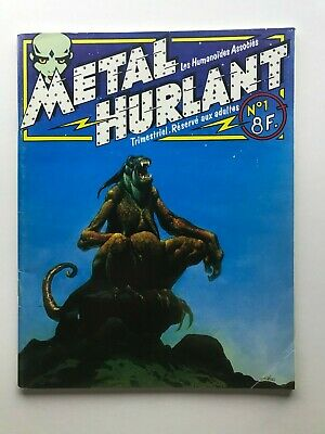 Metal Hurlant #1 first issue