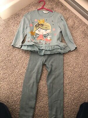 Girls Age 2-3 Years Outfit Top And Leggings