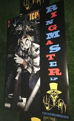 "Insane Clown Posse- Retro Ringmaster poster 24"" x 36"" PSYCHOPATHIC RECORDS ICP"