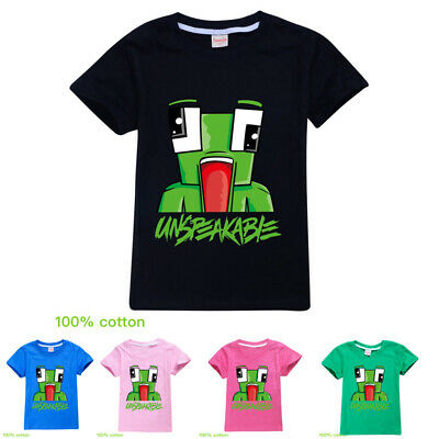 UNSPEAKABLE Kids Children Short Sleeve T-Shirt Tops 100% New Tee For Age 3-12