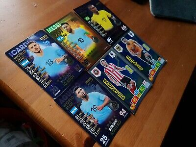 MATCH ATTAX 101 LIONEL MESSI 100 CLUB Aguero and others