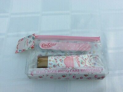 BNWT CATH KIDSTON WILD ROSE HAND CARE ESSENTIALS GIFT SET  Reduced only £3.00