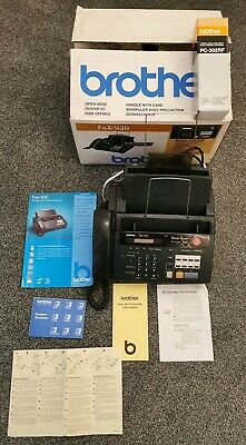 Brother FAX - 930 - Fax - Copy - Phone & Answering Machine *TESTED* **BOXED**