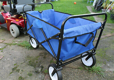 Mobility Scooter Rear Cart Cargo Towing Trailer XXL Tow Transport Attachment New