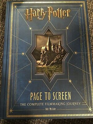 Harry Potter Page to Screen: The Complete Filmmaking Journey Book By Bob McCabe