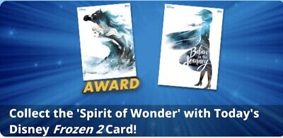Topps Disney Collect Card Trader Spirit of Wonder Award Ready Set Uncommon +Rare