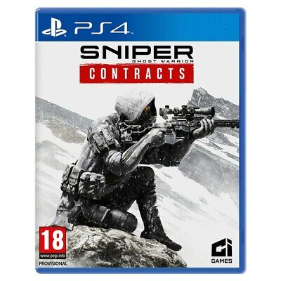 NEW!! Sniper Ghost Warrior Contracts PS4 xmas gift KIDS BOYS
