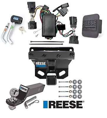 "Reese Trailer Tow Hitch For 06-10 Jeep Commander Deluxe Wiring 2"" Ball and Lock"