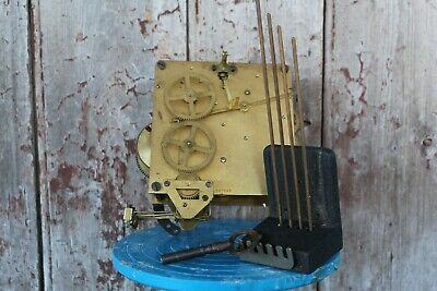 Vintage Wurttemberg Clock Movement and Parts Spares and Repairs