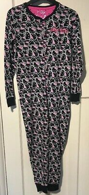 M&S Girls Hello Kitty One Piece Nightwear. Aged 11-12 Years. Hardly Worn.
