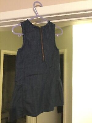 girls gap denim dress and knickers new without tags size 2 years