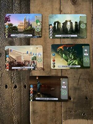 7 Wonders Duel ☆ Stonehenge ☆ Promo Card ☆ New