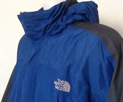 Mens The North Face Hyvent Jacket Waterproof Hooded Raincoat Size Large [L]