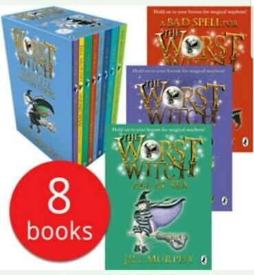 The Worst Witch Collection - 8 Books new sealed