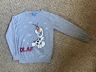 Boys Girls Olaf From Frozen Jumper! Xmas! 6-7 Years From NEXT! Christmas