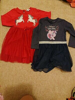 Baby Girl Dresses Bundle 12-18 Months