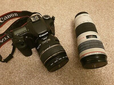 Canon EOS 40D 10.1MP Digital SLR Camera w/ EF-S 17-85mm and 70-200mm lenses