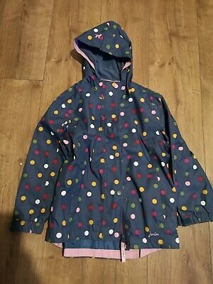 Joules Girls Raincoat Age 8