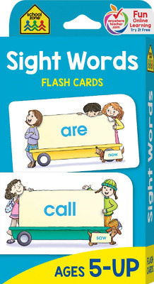 SIGHT WORDS FLASH Cards For Kids Ages 5 Up Early Reading ...