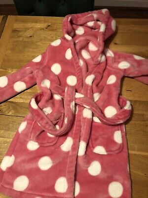 M&S Girls Dressing Gown Age 3-4