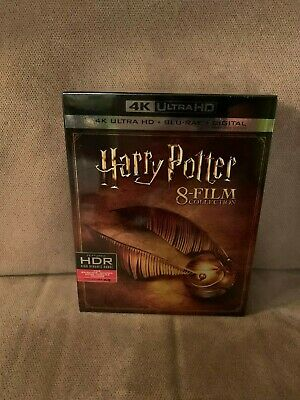 Harry Potter Complete 8 Film Collection (4K Ultra HD + Blu-Ray + Digital)