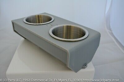 Perfect 2.0 Cupholder for all Mercedes-Benz R107 in light gray
