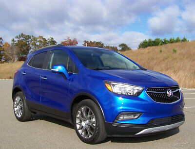2017 Buick Encore 2K ORIGINAL MILES 1-OWNER SPORT TOURING 1.4L TURBO WAGON HARP LOADED NAVIGATION PWR GLASS ROOF A/C CRUISE FACTORY WARRANTY CROSSOVER SUV