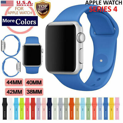 Apple iWatch Sport Silicone Replacement Wrist Watch Band Strap 40/44/38/42mm