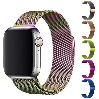 Apple Watch Magnetic Milanese Bracelet Strap Band For iWatch Series 5 4 3 2 1