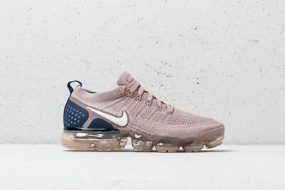 $190 NEW Nike Air Vapormax Flyknit 2.0 Navy Diffused Taupe 8.5 942842 201 max 97