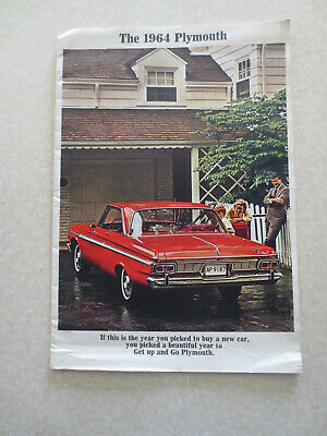 1964 Plymouth Fury & Sport Fury & Belvedere & Savoy car advertising booklet