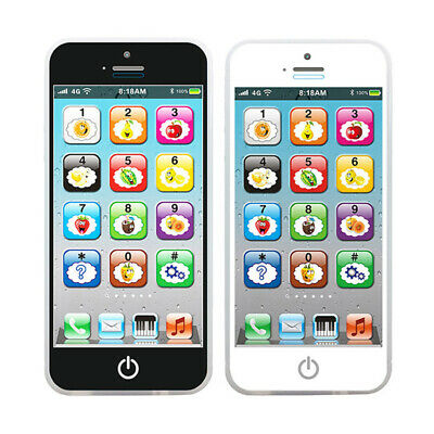 Kids Simulated Smart Phone Educational Music Toy USB Screen Child Gift