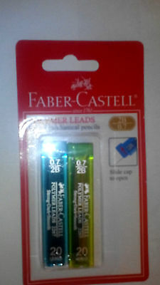 Mechanical Pencil Refills Faber-Castell  Lead 0.7mm 2B: 40 LEADS